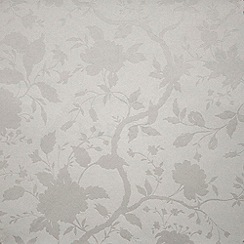 Kelly Hoppen - White Kelly Hoppen botanic wallpaper