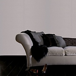 Kelly Hoppen - Silver shimmer Kelly Hoppen linen texture wallpaper