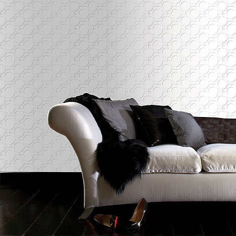 Kelly Hoppen - Ice white Kelly Hoppen enigma wallpaper