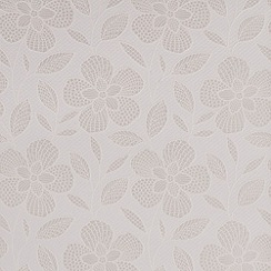 Superfresco Easy - White renee wallpaper