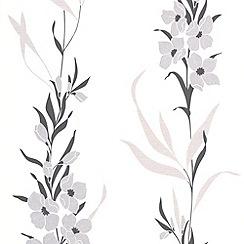 Superfresco Easy - Silver Jardin Wallpaper