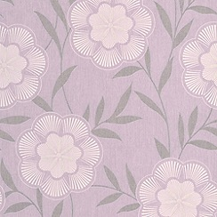 Superfresco Easy - Lavender Flora Wallpaper