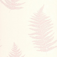 Superfresco Easy - Pink Verdant Wallpaper