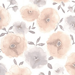 Superfresco Easy - Natural Poppies Wallpaper
