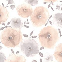 Superfresco Easy - Natural Poppies Wallpaper