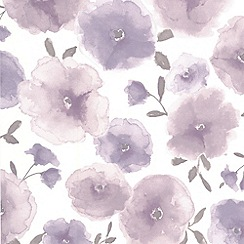 Superfresco Easy - Lavender Poppies Wallpaper