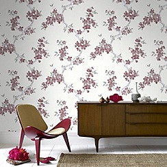 Graham & Brown - Red Mercutio Wallpaper