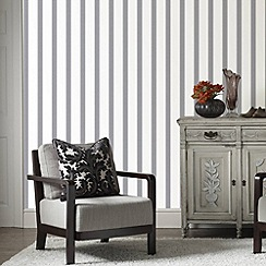 Graham & Brown - Grey Duke Wallpaper