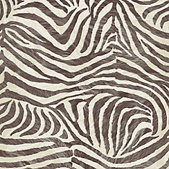 Premier - Brown/Beige Zebra Wallpaper