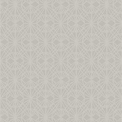 Graham & Brown - Grey Mini Geometric Pattern Wallpaper