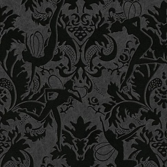Marcel Wanders - Black Reflections Wallpaper
