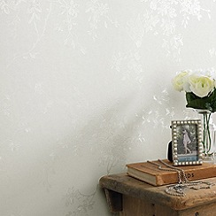 Superfresco - Cream Shimmer Spring Blossom wallpaper