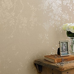 Superfresco - Golden Spring Blossom wallpaper