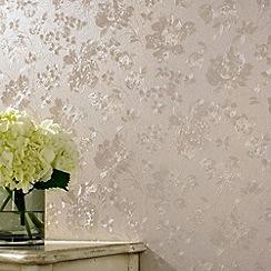 Superfresco - Golden Floral Silk wallpaper