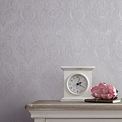 Superfresco - Silver Mist Damask wallpaper