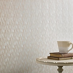 Superfresco - Cream Shimmer Silken Stria wallpaper