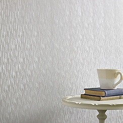 Superfresco - Silver Mist Silken Stria wallpaper
