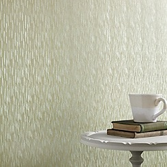 Superfresco - Green Shimmer Silken Stria wallpaper