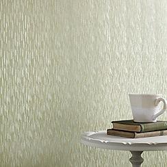 Superfresco - Green Shimmer Silken Stria wallpaper