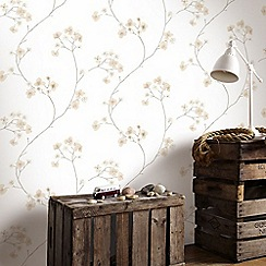 Superfresco Easy - Natural Radiance Delicate Floral Wallpaper