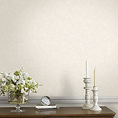 Superfresco Easy - Natural Halo Plain Textured Wallpaper