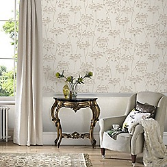 Superfresco Easy - Natural Aura Sprig Motif Wallpaper