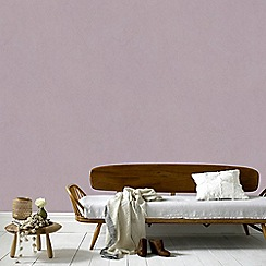 Graham & Brown - Light Purple Tranquil Plain Wallpaper