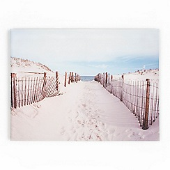 Graham & Brown - Printed canvas Walk to the beach wall art