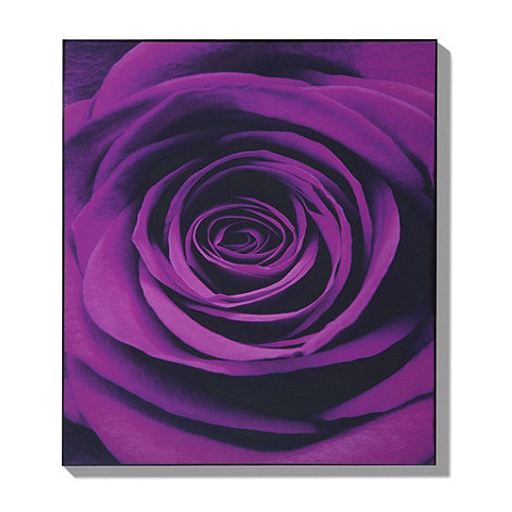 Graham & Brown - Lacquered Plum Passion wall art