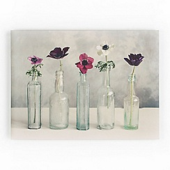 Graham & Brown - Printed canvas Floral row wall art