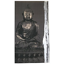 Kelly Hoppen - Printed canvas Zen wall art