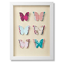 Graham & Brown - Framed Butterflies corsage wall art