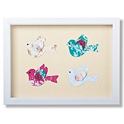 Graham & Brown - Framed Birds corsage wall art