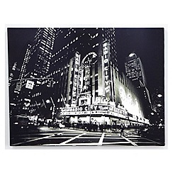 Graham & Brown - Metallic City Lights Wall Art