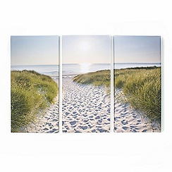 Graham & Brown - Multicoloured Beach Walk Wall Art