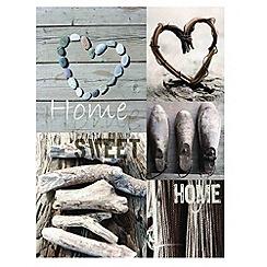 Graham & Brown - Cream Home Sweet Home Wall art