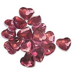 Graham & Brown - Pink heart stones wall art