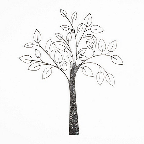 Graham & Brown - Metallic Tree Wall Art