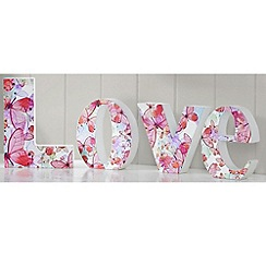 Graham & Brown - Red Love Wall art