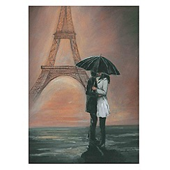 Graham & Brown - Yellow Kissing In Paris Wall art