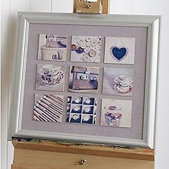 Graham & Brown - Cream Printed Canvas Wallart