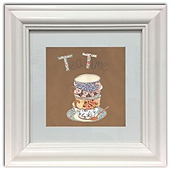 Graham & Brown - Beige Tea For Two Framed Wall art