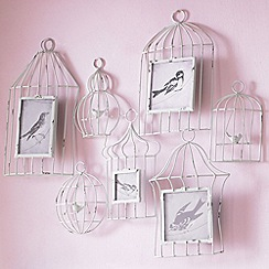 Graham & Brown - Birdhouse multi frame wall art