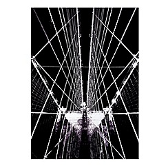 Graham & Brown - Brooklyn bridge structure  wall art