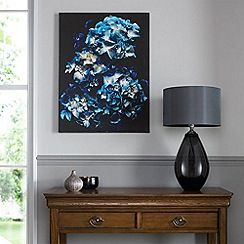 Graham & Brown - Blooms In Blue Canvas Wallart