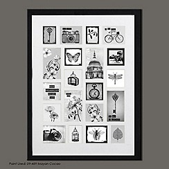 Graham & Brown - Black Treasured Trinkets Collection Large Photo Frame