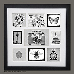 Graham & Brown - Black Treasured Trinkets Collection Small Photo Frame