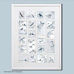 Graham & Brown - White Feathered Friends Collection Large Photo Frame