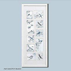Graham & Brown - White Feathered Friends Collection Medium Photo Frame