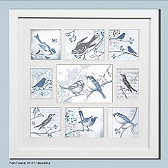 Graham & Brown - White Feathered Friends Collection Small Photo Frame